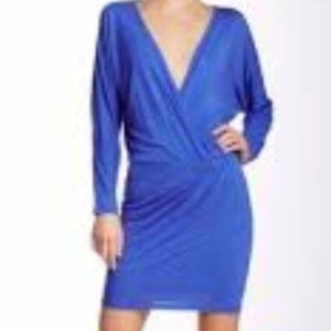 Haute Hippie Cobalt Blue Wrap Dress Sz- S